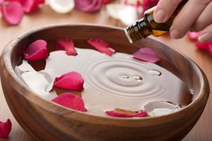essential oils raindrop therapy